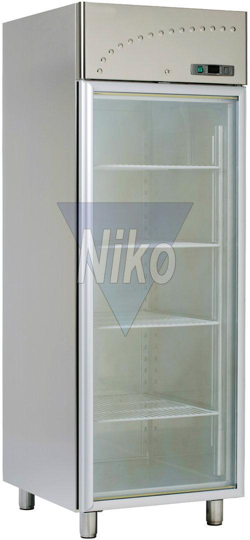 Tiefkühlschrank Profi-Line NICM 500 mit Glastür - Niko-Großküchen