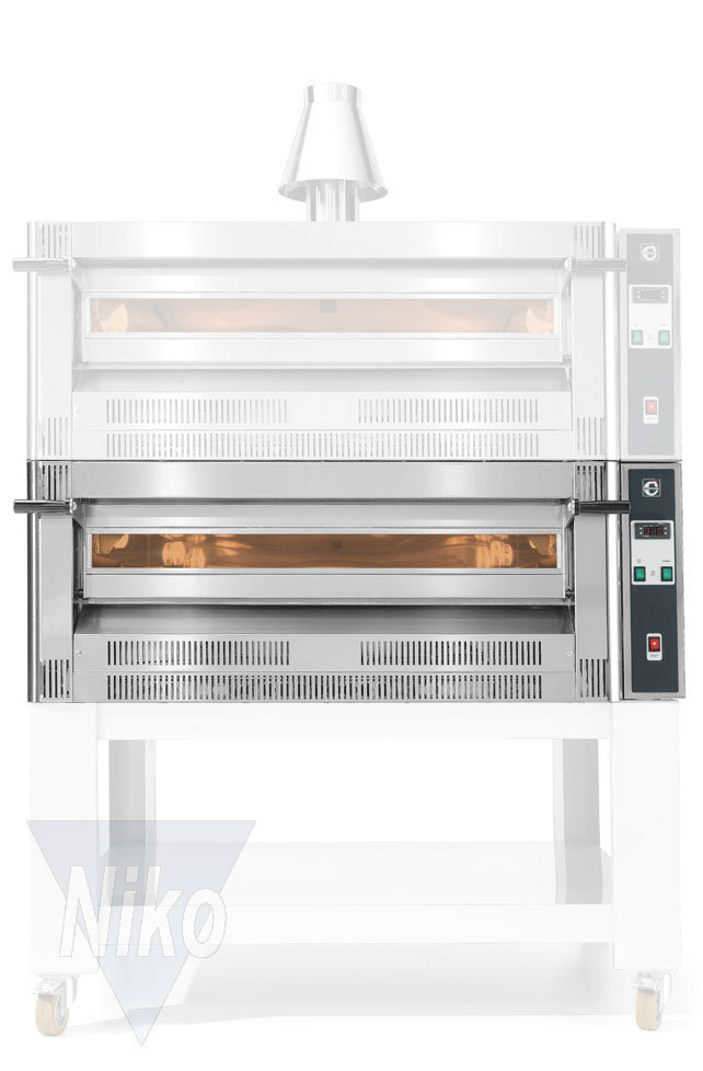 Gas Cuppone Pizza Oven One Chamber 633 Niko Grosskuchen