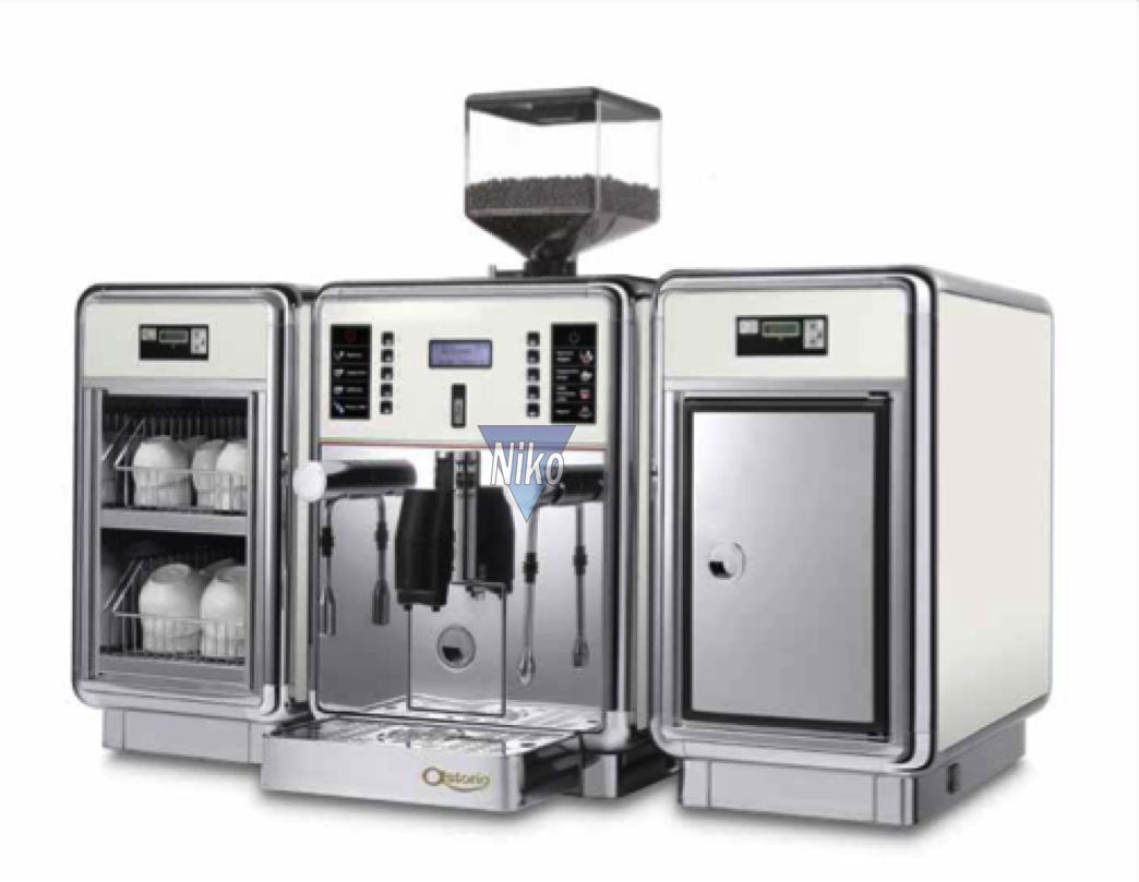 kaffeevollautomat gemma by astoria push button niko. Black Bedroom Furniture Sets. Home Design Ideas