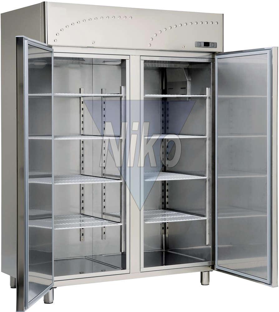 Tiefkühlschrank Profi-Line NICM 1400 Glastüren - Niko-Großküchen